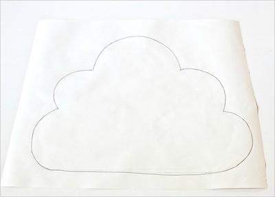 May gối hình đám mây